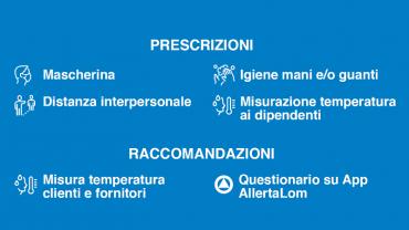 Misure preventive CODIV-19